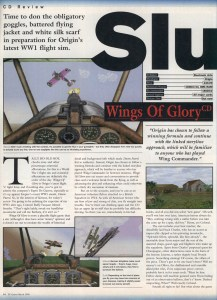 Wings Of Glory Review - PC Gamer Page 1