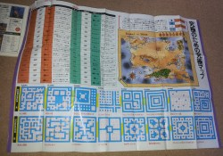 Ultima 3 Perfect Guidebook To Overcome - Map Sheet Front