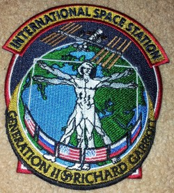 Richard Garriott Space Suit Badge