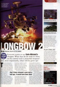 Longbow 2 Review - PC Format