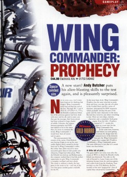 Wing Commander Prophecy Review - PC Format (Page 2)