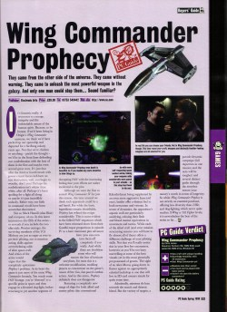Wing Commander Prophecy Review - PC Guide