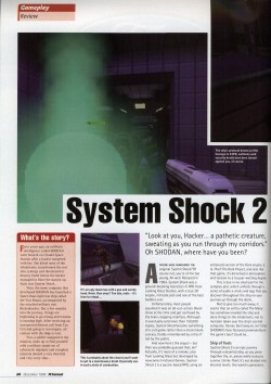 PC Format - System Shock 2 Review (Page 1)