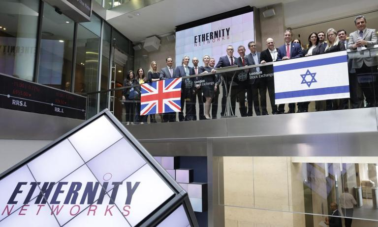ETHERNITY NETWORKS' AIM IPO