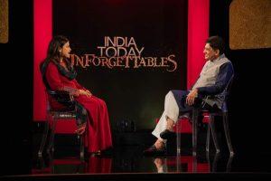With Poonam Mahajan