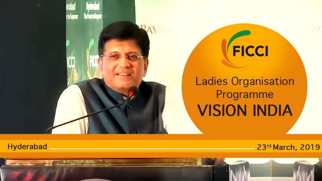 Speaking at a programme of FICCI's Ladies Organisation in Hyderabad