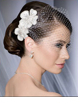 Image result for bridal veil headpiece