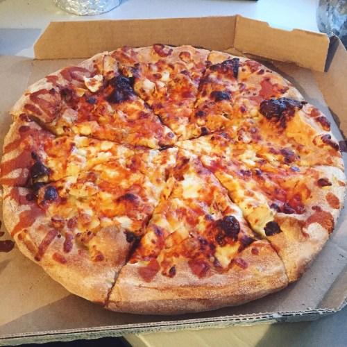 Domino's Buffalo Chicken Pizza – Mattapan, Boston, MA