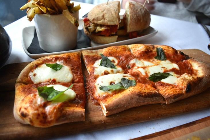 Tuscan Kitchen Seaport Boston Ma Pizza Blonde