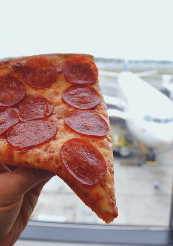 Boston's Logan Airport is a Pizza Lover's Paradise