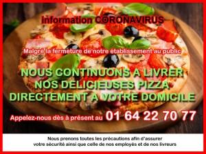 Livraison de Pizza - PIZZA MIMI - Fontainebleau