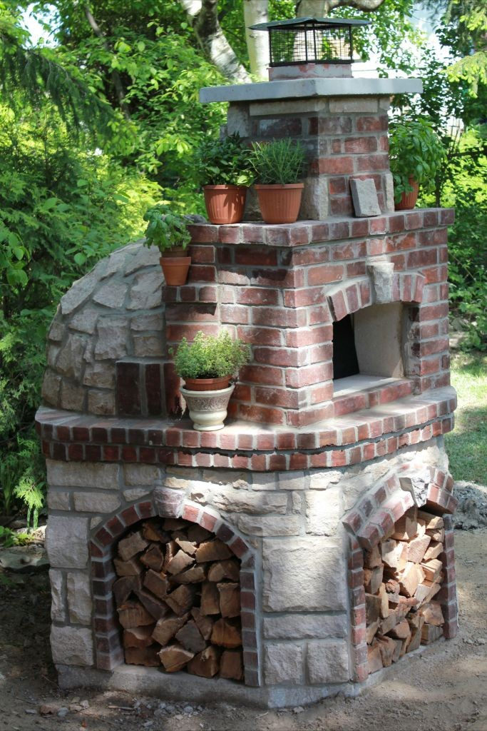 "Pizza Oven Kit ""Volta"" for Indoor & Outdoor on Outdoor Patio With Pizza Oven  id=69113"