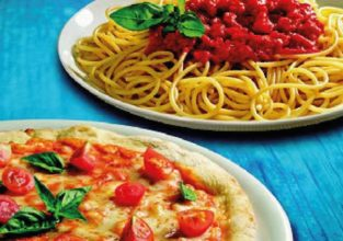 pizza and pasta