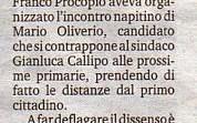 10/9/2014 Comune di Pizzo. Procopio rompe con Callipo ma non va all'opposizione