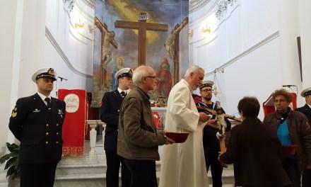 """Pizzo. 14/4/2017 – Chiesa di San Giorgio – Funzione religiosa """"In Morte Dominus"""""""