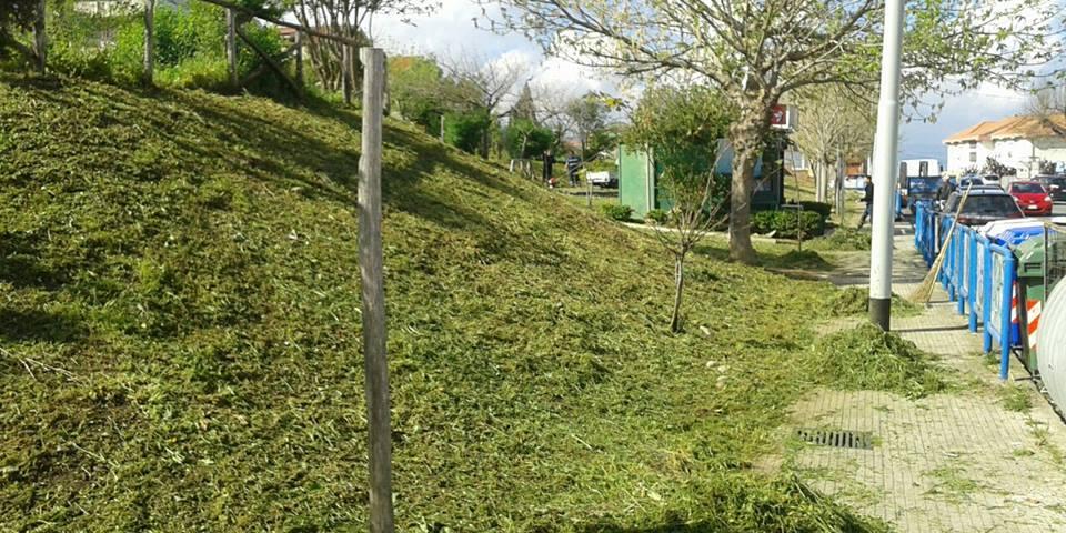 Aree verdi e percorsi pedonali ripuliti in attesa dei visitatori