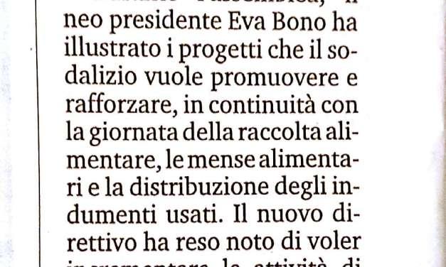 """Associazione """"Alì di fata"""", Eva Bono presidente"""