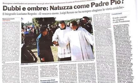 Dubbi e ombre : Natuzza come Padre Pio?