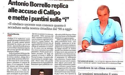 """Antonio Borrello replica alle accuse di Callipo e mette i puntini sulle """"i"""""""