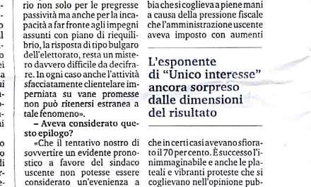Antonio Borrello: La massoneria ha sostenuto la candidatura di Callipo