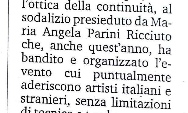 Si rinnova il premio di pittura più longevo della Calabria