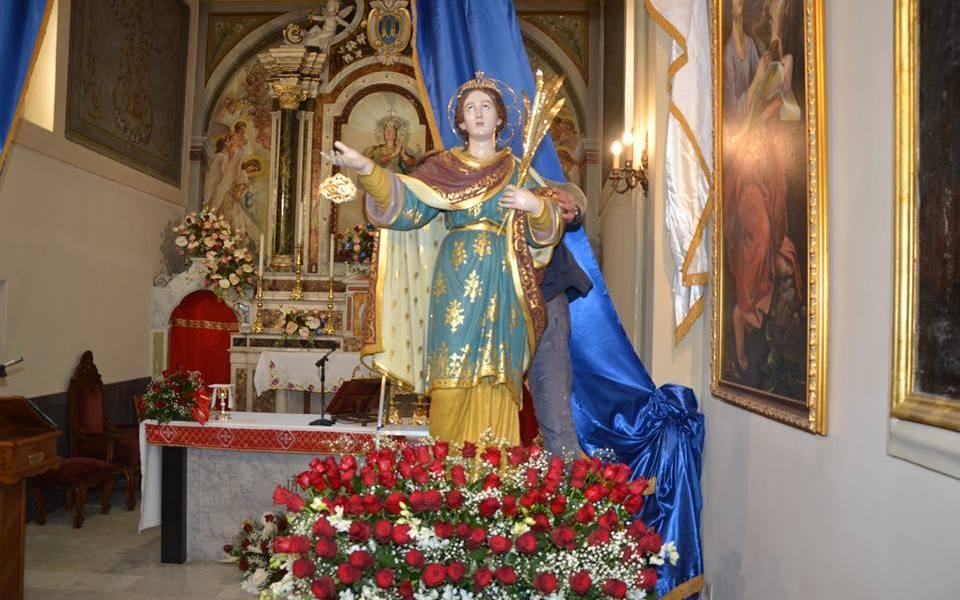 Pizzo oggi Festa di S. Lucia Vergine e Martire con il suono delle Zampogne di A.Teti