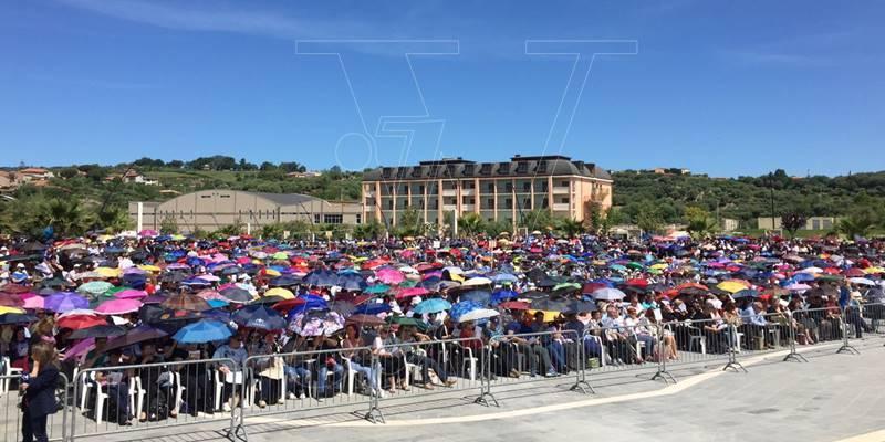 Cenacoli di Natuzza, il vescovo alla Fondazione: «Il raduno si svolgerà»