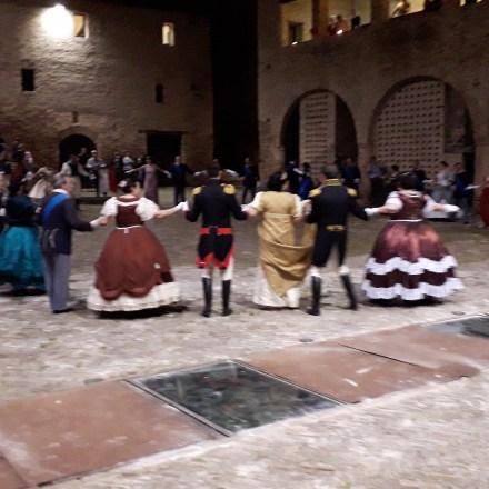 20180505  VIAGGIO A TOLENTINO. Gran Gala' Reale al Castello della Rancia
