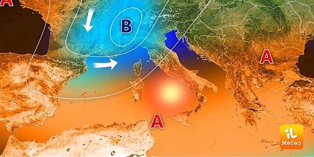 Ferragosto sotto l'ombrello, afa e caldo lasciano spazio alla perturbazione atlantica – Zoom24