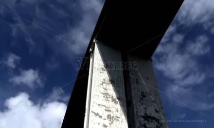Pizzo, cosa si prova ad abitare sotto un viadotto autostradale dopo i fatti di Genova (VIDEO)