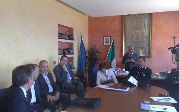 14 Maggio 2009 – Prima Riunione del Comitato Scientifico per la ricerca delle ossa del Re Gioacchino Murat Foto di Giuseppe PAGNOTTA