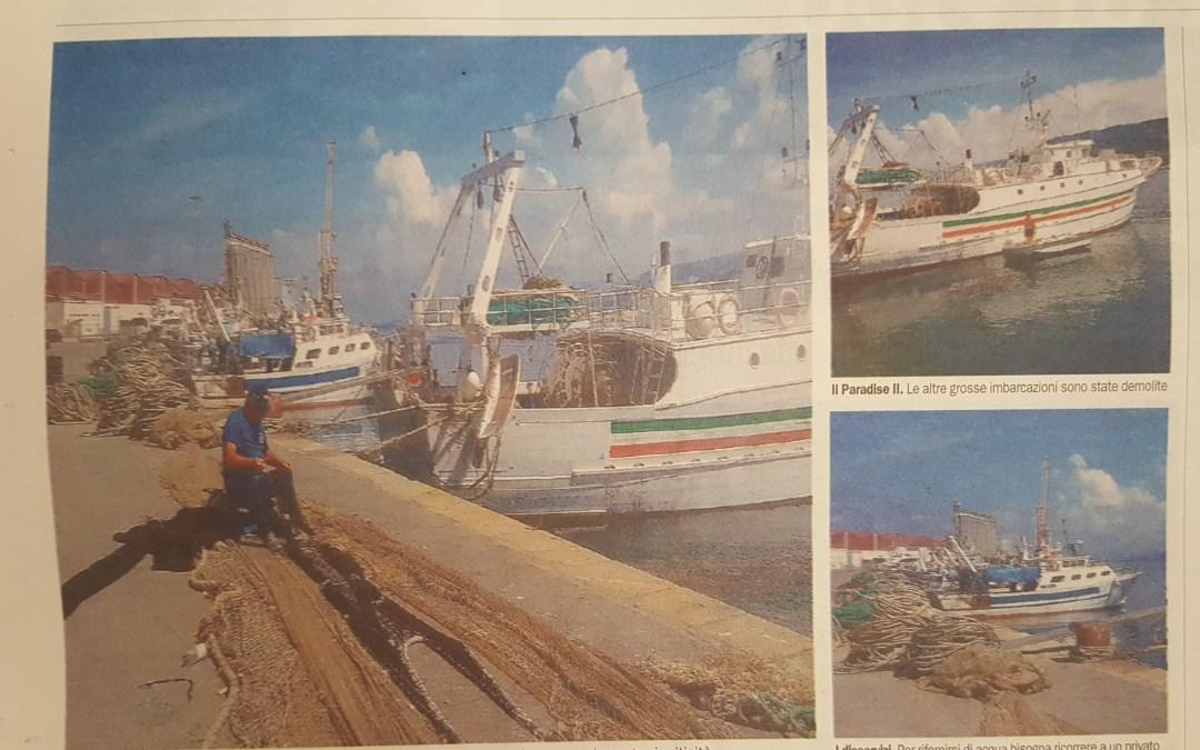 Vibo Marina, crisi del settore ittico. In ginocchio la storica marineria
