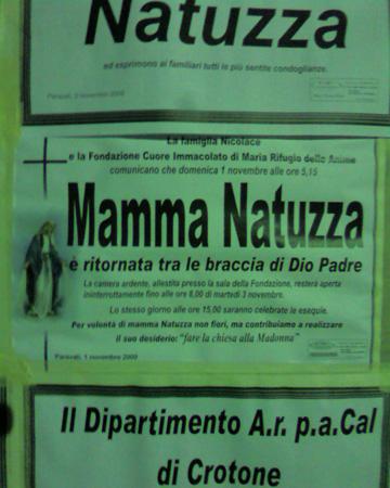 Muore la mistica di Paravati Signora Natuzza Evolo