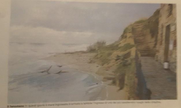 Allarme erosione su tutto il litorale a rischio la Chiesetta di Piedigrotta