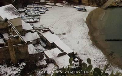 Pizzo 31/1/1999 – LA GRANDE NEVICATA 2° GG. – IL CENTRO STORICO E LA COSTA
