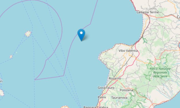 Scossa di terremoto nella notte al largo delle coste tirreniche calabresi – Zoom24