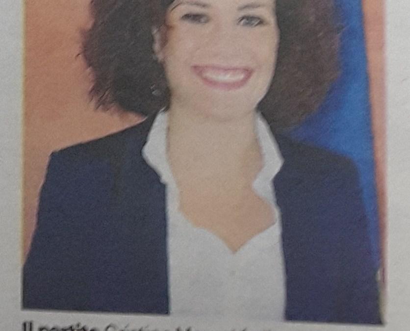 Cristina Mazzeo resta, le ragioni dell'Assessore