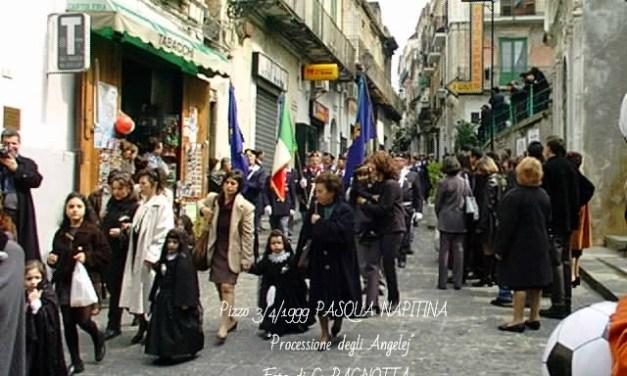 3/4/1999 PROCESSIONE DEGLI ANGELEJ  NELLA PASQUA NAPITINA – FOTO DI G. PAGNOTTA