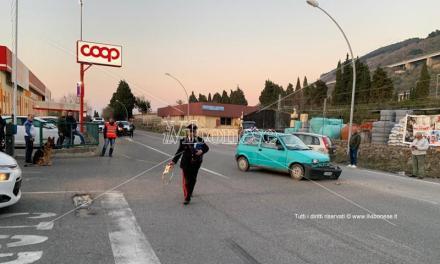 Scontro fra due auto all'ingresso di Pizzo, ferita una donna