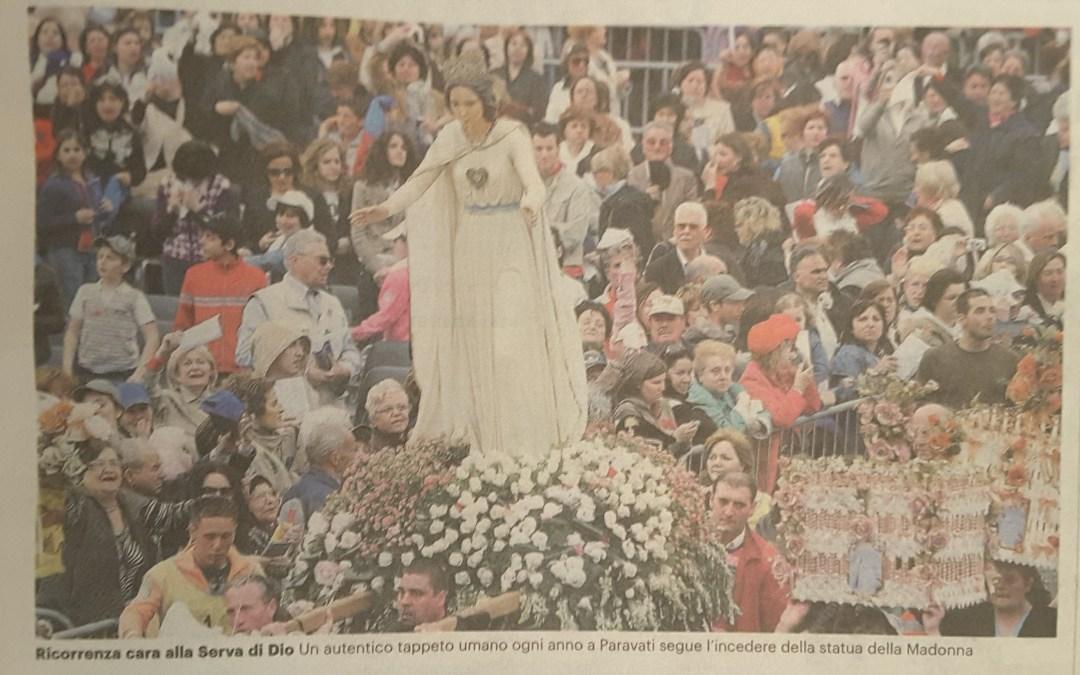 Natuzza, la festa della mamma si svolgera' domenica a Paravati