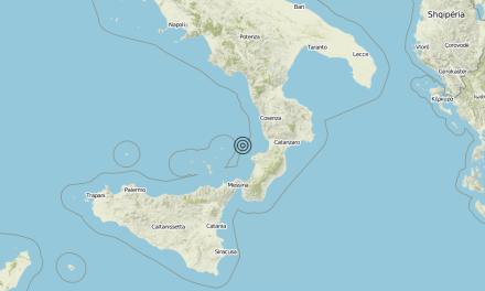 Terremoto Costa Calabra sud-occidentale (Catanzaro, Vibo Valentia, Reggio di Calabria) – Magnitudo (ML) 2.5 – 24/08/2019 09:44:55 | Meteo in Calabria