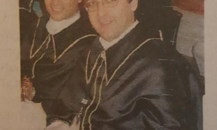 Confraternita Maria Addolorata Umberto Mattei nuovo priore