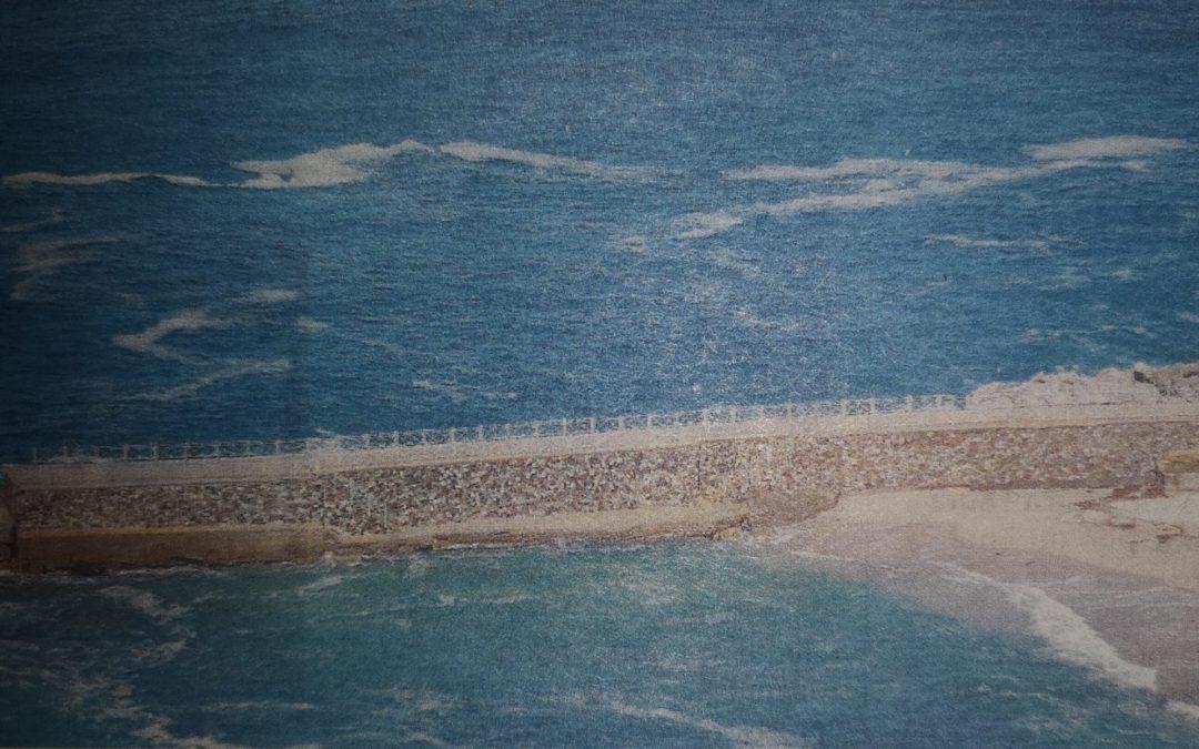 Spuntano le prime chiazze in mare, neanche il lock down salva Pizzo