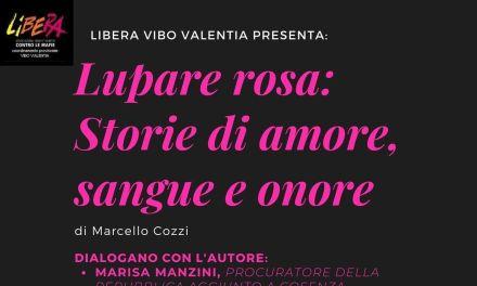 """""""Storie d'amore, sangue e onore"""": dibattito a Pizzo con Marisa Manzini e Camillo Falvo"""