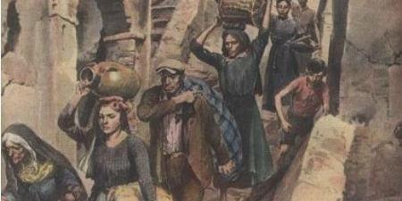 """RICERCHE STORICHE.IL TERREMOTO DEL 1783  da """"Colonna Mobile in Calabria"""" di Horace Rilliet"""