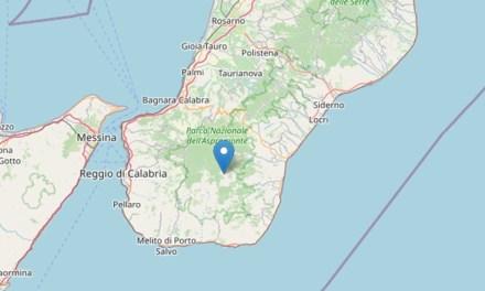 Forte terremoto a Reggio Calabria, magnitudo compresa fra 3.9 e 4.4