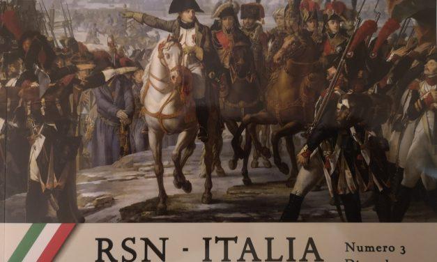 Disponibile ultimo numero della Rivista del Ricordo Napoleonico in Italia