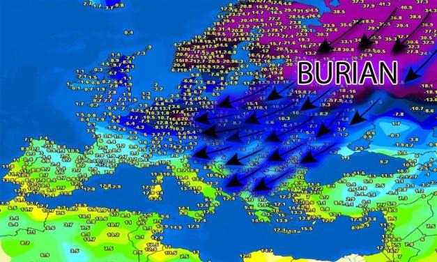 Meteo, arriva Burian: freddo e gelo anche in Calabria – il Lametino.it