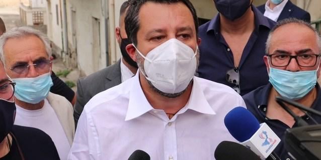 Matteo Salvini in Aspromonte: la Lega Rosarno rinuncia all'inaugurazione della sede   Stretto Web
