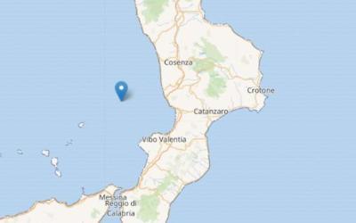 Calabria, terremoto oggi: scossa al largo di Lamezia tra 4,3-4,8 gradi Richter- Corriere.it
